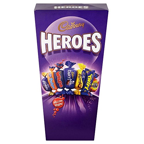 Ireland Information Halloween (Cadburys Miniature Heroes - 323g - Dairy Milk, Caramel, Eclairs, Fudge and Many)