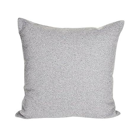 Milan - Cojín gris claro/tejido fieltro 620: Amazon.es: Hogar