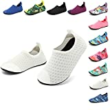 HooyFeel Cute Kids Toddler Sneakers Lightweight Slip on Swim Water Shoes Aqua Barefoot Socks for Baba Boys and Girls