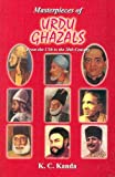 Masterpieces of Urdu Ghazal from 17th to 20th Century, Kanda, K. C., 8120711955