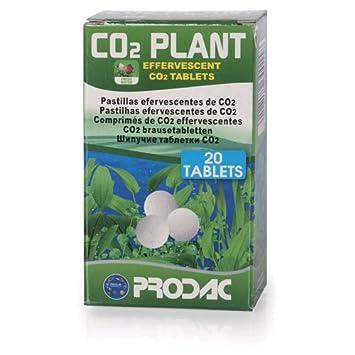 20x Tabletas/Pastillas de CO2 Prodac para el Cultivo/Acuario (CO2 Plant): Amazon.es: Jardín