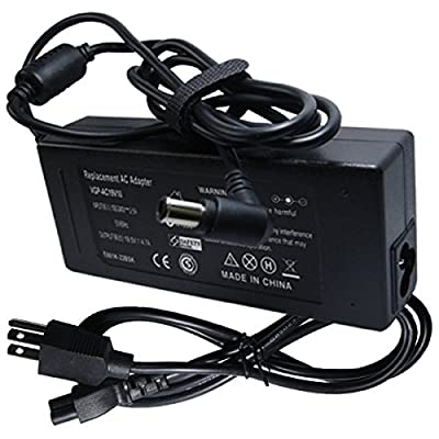Laptop Ac Adapter Battery Charger Cord Power Supply for Sony Vaio PCG-7151L PCG-7152L PCG-7153L PCG-7154L PCG-7183L PCG-7184L PCG-7185L PCG-71911L PCG-71912L by LYPCTECH