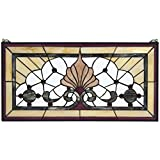 Stained Glass Panel - Victoria Lane Stained Glass Window Hangings - Window Treatments