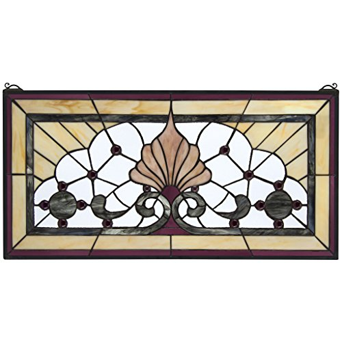 Stained Glass Panel - Victoria Lane Stained Glass Window Hangings - Window Treatments (Victoria Lane)