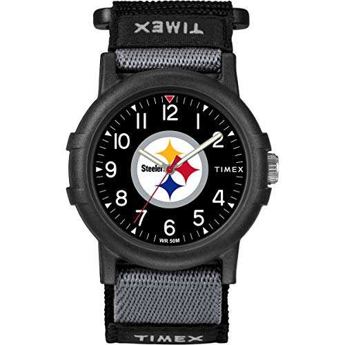 Timex Youth TWZFSTEYA Recruit Pittsburgh Steelers NFL Tribute Collection Watch