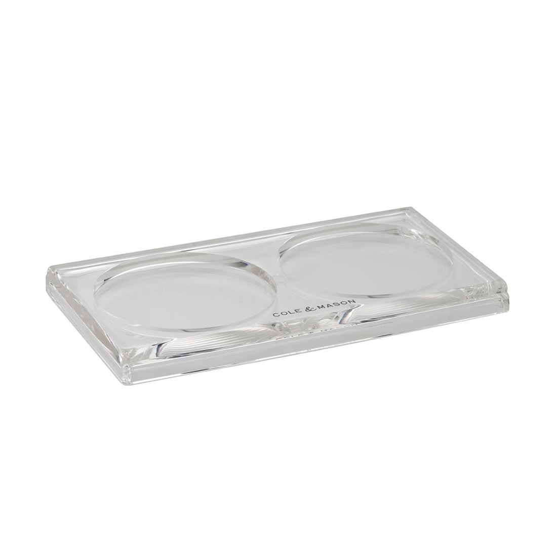 Cole /& Mason H306129BR Wood Mill Tray Brown