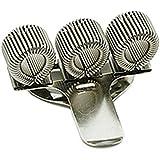 Ivy Support en métal pour trois stylos avec clip de poche
