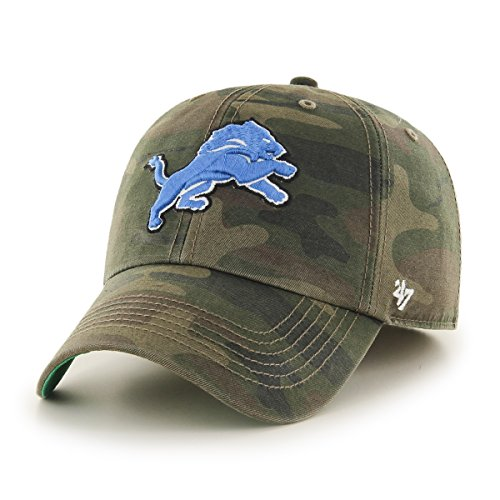 Detroit Lions Professional Football - NFL Detroit Lions Harlan Franchise Fitted Hat, X-Large, Sandalwood
