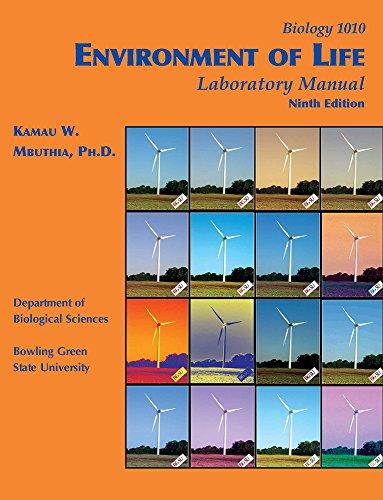 Environment of Life Laboratory Manual