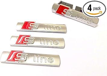 Silver Metal Emblem Badge Front Grill Mount Bracket For Audi S5 S8 A4 A6L S Line