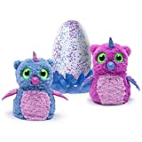 Exclusive Hatchimals Owlicorn Pink/Blue Egg - One of Two Magical Creatures Inside