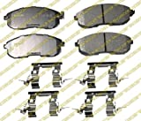 Monroe CX653 Ceramic Premium Brake Pad Set