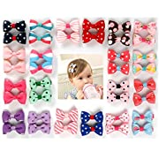 Ezerbery 40 pcs 1.8  Baby Girls kids Hair Clips Hair Barrettes hairpins For Girl Teens Kids Babies Toddlers