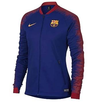 Nike FC Barcelona Anthem Chaqueta de Entrenamiento  Amazon.es ... 9ec147f27a087