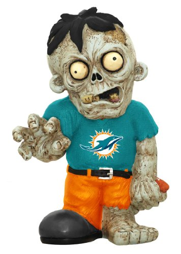NFL Miami Dolphins Pro Team Zombie Figurine by Forever Collectibles