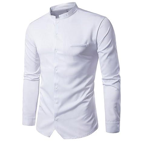 Camisas hombre Camisas casuales hombre botón invierno ...