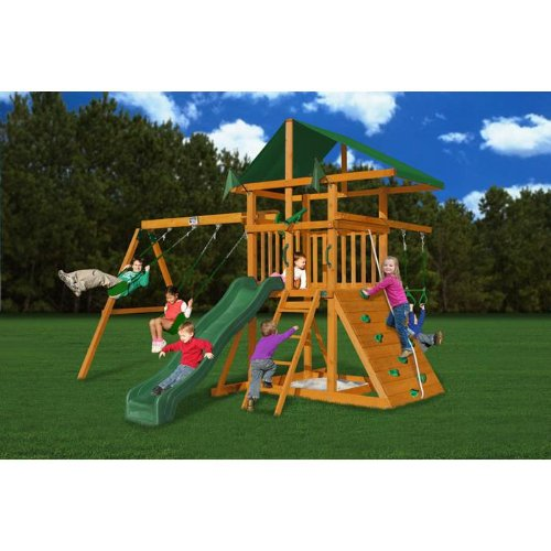 Gorilla Playsets Outing III Playground System