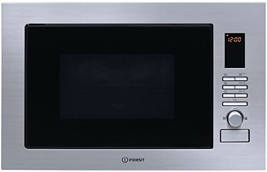 Indesit horno microondas empotrable combinado Grill 25 Lt 900 W 60 ...