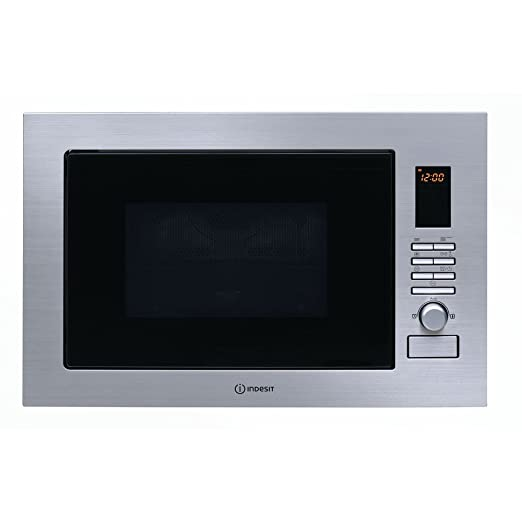 Indesit horno microondas empotrable combinado Grill 25 Lt ...