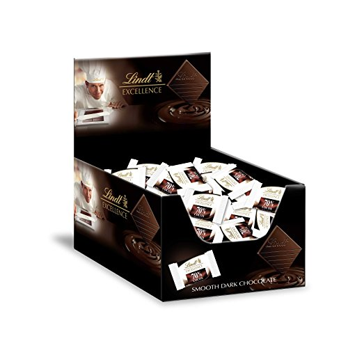 (Lindt EXCELLENCE 70% Cocoa Chocolate Diamonds 60ct Box)