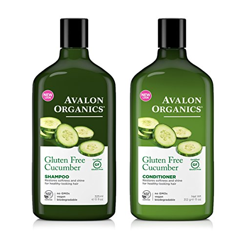 avalon-organics-gluten-free-shampoo-and-avalon-organics-gluten-free-conditioner-bundle-with-cucumber