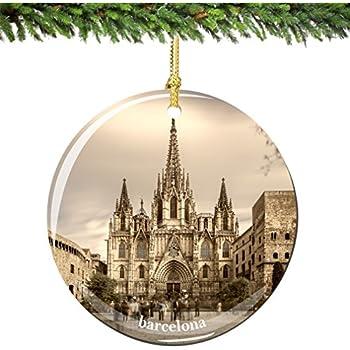 Amazon.com: Gaudi House Museum Barcelona Polish Blown Glass ...