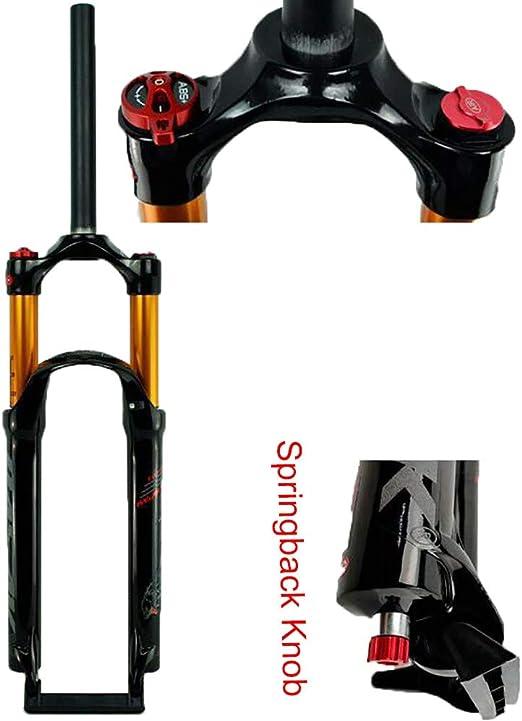 QXFJ 26/27.5/29 Pulgadas Horquilla de Bicicleta,Control Hombro ...
