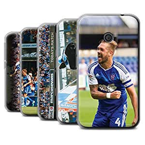 Official Ipswich Town FC Gel TPU Phone Case / Cover for Vodafone Smart First 7 / Pack 8pcs Design / ITFC Celebrations Collection