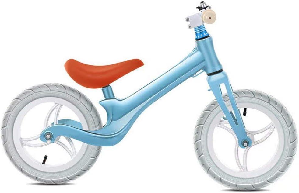 YEDENGPAO Equilibrio Bici - Bicicleta De Entrenamiento del Niño De 18 Meses, 2-6 Años Niños - Ultra Cool Colors Empuje Las Bicis para Niños Pequeños/N Pedal Vespa Bicicleta con Reposapiés