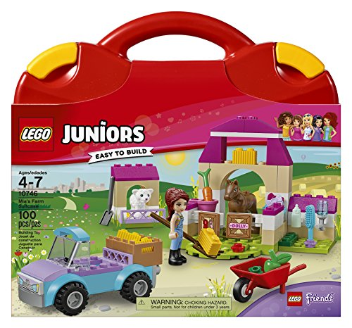 LEGO Juniors Mia's Farm Suitcase 10746 Toy for 4-Year-Olds JungleDealsBlog.com