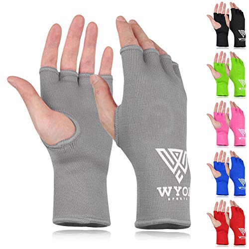WYOX Boxing Hand Wraps MMA Gloves Men Women Punching Mitts Boxing Wraps Boxing Gear Kickboxing Wraps Compression