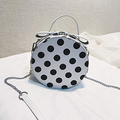 Blanc épaule de Femme Sac WSLMHH Messenger Sac Bag marée Mode fée Petit Rond Portable Sauvage FAUqUnv6