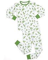 "Leveret Big Boys, Girls ""Dinosaurs"" 2 Piece Pajama Set 100% Cotton (5-14 Years)"