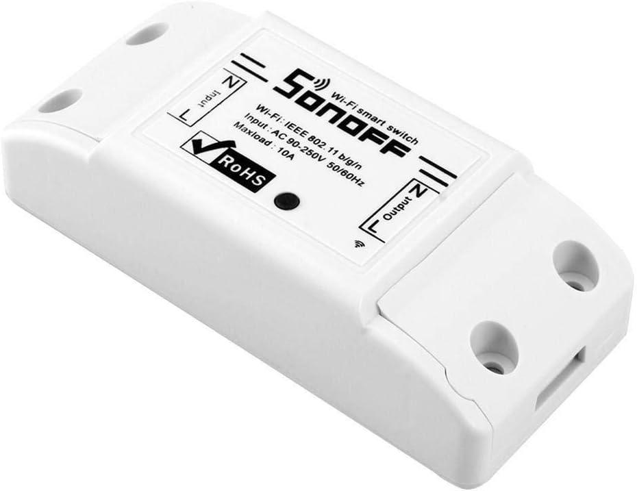La seguridad del sistema de alarma antirrobo Interruptor WiFi inalámbrico Luz Control remoto Módulo de automatización Toma del temporizador interruptor de botón de la puerta de acero inoxidable