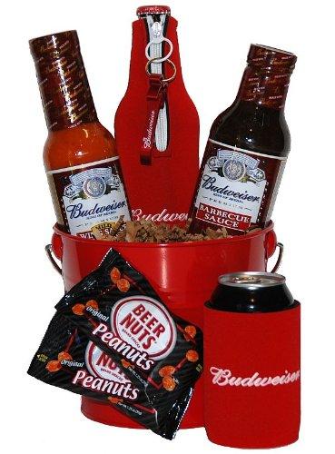 Budweiser Grilling Gift Basket