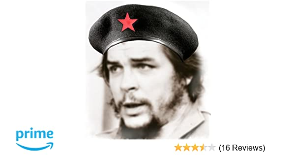 Amazon.com  Che Guevara Store Black Military Beret with Red Star  Novelty T  Shirts  Clothing ab0c3a099931