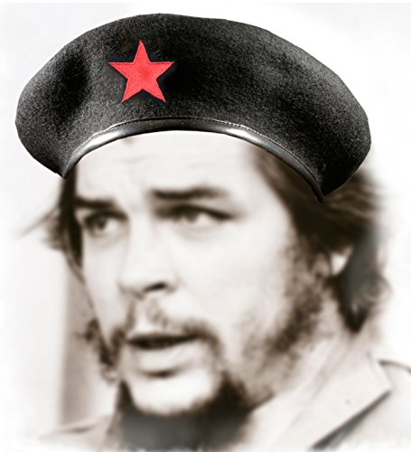Che Guevara Store Black Military Beret With Red Star Buy