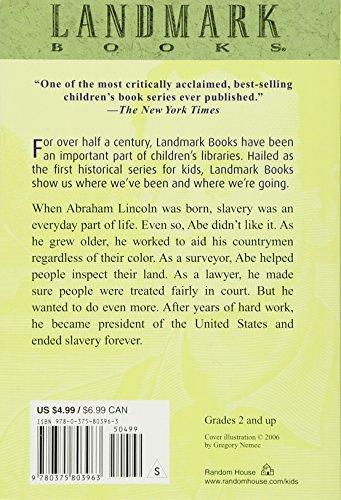 Meet Abraham Lincoln (Landmark Books) Photo #3