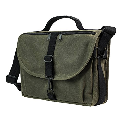 Domke Heritage Shoulder Bag Camera Case, Green (701-83M) (Domke Canvas Camera Bag)