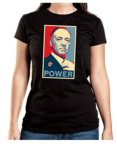 Frank Power T-Shirt Girls Black Certified Freak