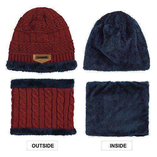 y aire bufanda circular de deportes punto de libre al caliente de Rojo Sombrero esquí Topcloud conjuntos Sombrero de Sombrero OwdRqT0aTx