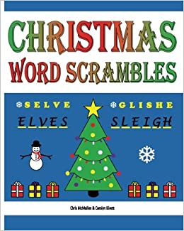 Christmas Word Scramble.Christmas Word Scrambles Puzzles For The Holidays Chris