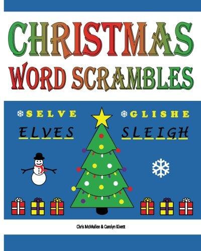 Christmas Word Scrambles: Puzzles for the Holidays: Chris McMullen ...
