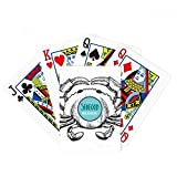Crab Sketch Marine Organism Illustration Poker Playing Card Tabletop Board Game Gift