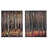 Crestview Collection Deep in the Woods' Wood Wall Décor Canvas
