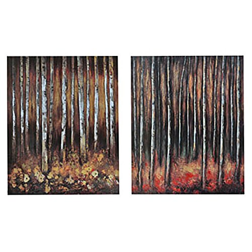 Crestview Collection Deep in the Woods' Wood Wall Décor Canvas by Crestview Collection