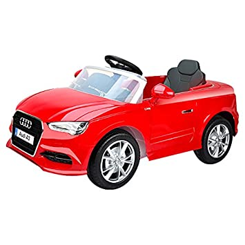 2460ca3fdb7 Audi A3 Licensed Kids Ride On Car 12v Twin Motor Battery Remote Control Cars  - The Perfect Gift For Your Children.  Amazon.co.uk  Toys   Games