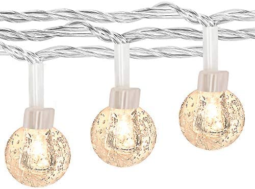 100LED Globe String Lights for Bedroom, 43ft 8 Modes Plug in Decorative Lights, Waterproof Fairy String Lights for Patio, Indoor, Outdoor, Christmas, Wedding, Party, Connectable Warm White