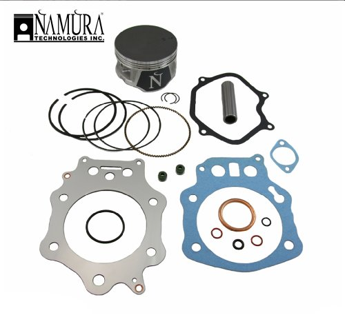 New Honda Oem Piston Ring (2002-2004 Honda CR250 Dirt Bike Top End Engine Rebuild Kit [Bore Size (mm): 66.35])