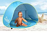 baby beach gear - MonoBeach Baby Beach Tent Pop Up Portable Shade Pool UV Protection Sun Shelter for Infant